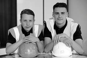 Dylan Parrish and Josh McCabe of Barratt Developments