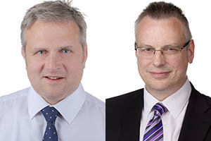 Ian Bennett and Chris Pipe of Keepmoat Homes