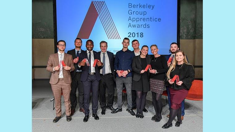 Berkeley Group announces its top apprentices