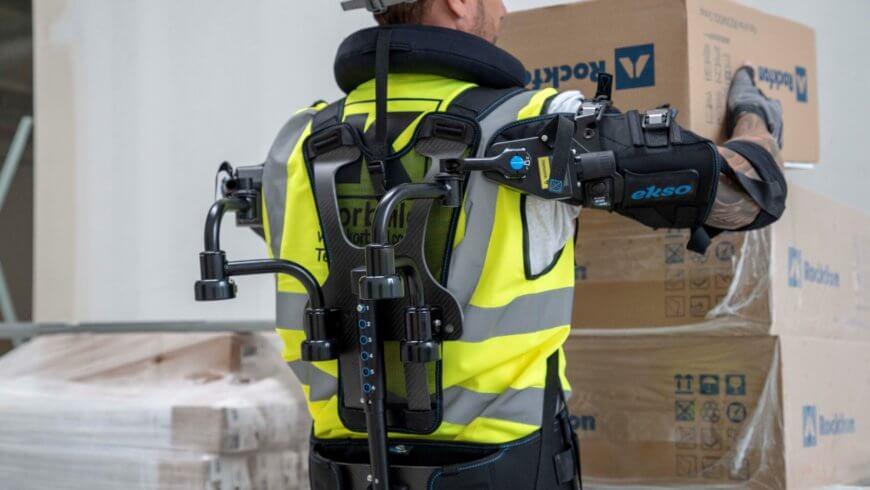 Willmott Dixon trials industry's first robotic vest