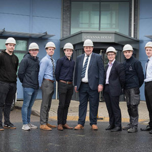 Housebuilder welcomes record number of apprentices