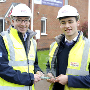 Award for South West housebuilder's apprentice Lee