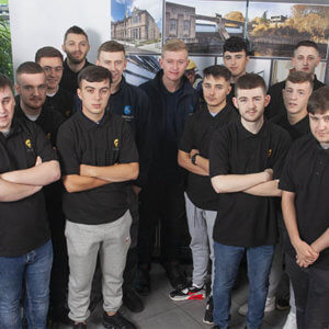 New apprentices begin at Glasgow construction company