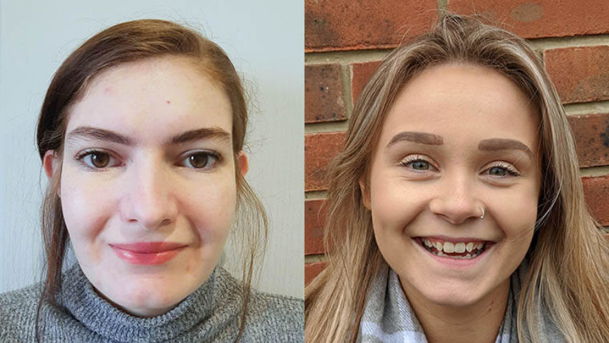 Career views: apprentices Chloe Hudson and Grace Hardy, Lifestory