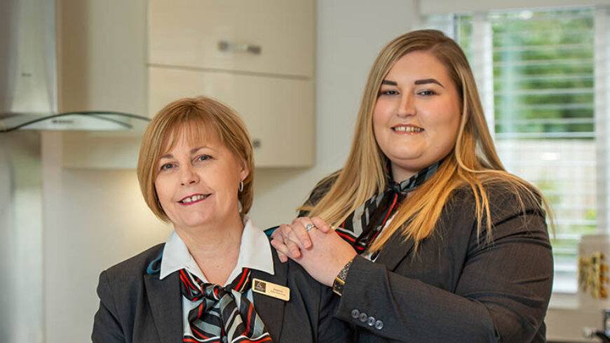 Like mother, like daughter with Harron Homes