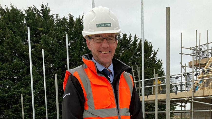 Career view: Mark Tipping, Living Space Housing