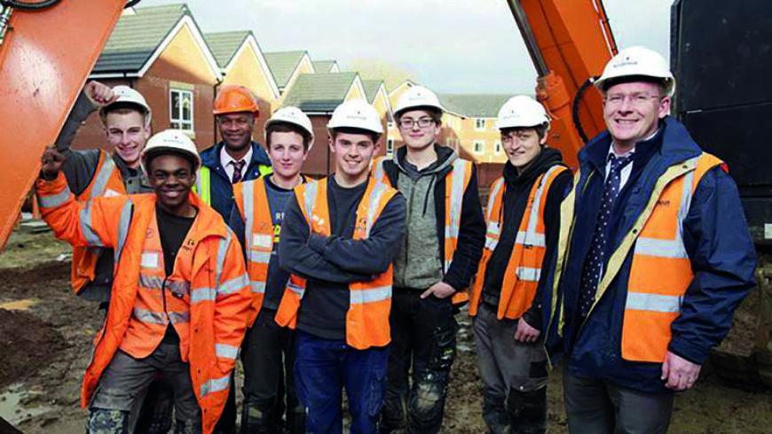 Keepmoat helps kickstart careers for young people